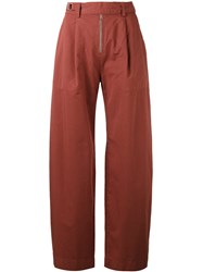 Hope Master Trousers Women Cotton 38 Red