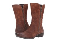 Born Ivory Tobacco Distressed Women's Boots Tan