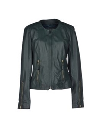 My Skin Jackets Dark Green