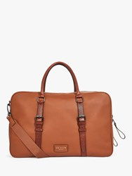 Ted Baker Waine Leather Document Bag Tan