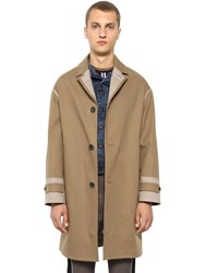 Lanvin Cotton Trench Coat Beige