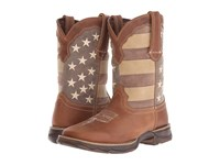 Durango Rebel 10 Faded Glory Brown Patriotic Women's Boots