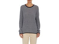 Tomorrowland Women's Striped Cashmere Cotton Sweater No Color