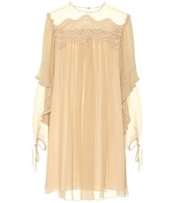 Chloe Exclusive To Mytheresa.Com Silk Dress Pink