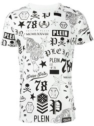 Philipp Plein 'So Black' T Shirt White