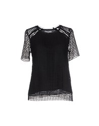 Suncoo Shirts Blouses Women Black