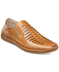Stacy Adams Men's Naples Casual Slip Ons Men's Shoes Beige