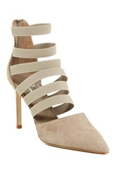 Delman Bae Pump Brown