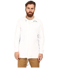 K Way Raoul Coach Jacket White Men's Coat