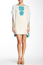 Julie Brown Harlow Tunic Blouse White