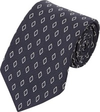 Ralph Lauren Black Label Diamond Neck Tie Blue