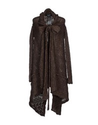 Adele Fado Cardigans Dark Brown