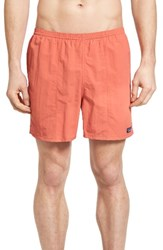 Patagonia Men's 'Baggies' Swim Trunks Red