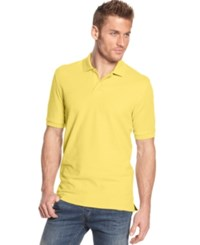 Club Room Short Sleeve Solid Estate Performance Polo
