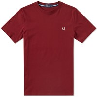 Fred Perry New Classic Crew Neck Tee Pink