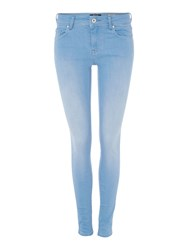 Salsa Collete Skinny Jean Denim Light Wash