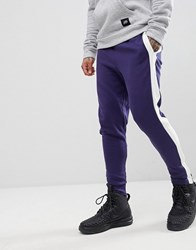 Sixth June Skinny Joggers In Black With Side Stripe