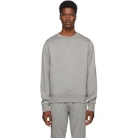Ralph Lauren Purple Label Grey Madison Cn Polo Sweatshirt