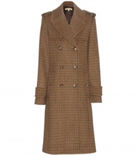 Michael Kors Wool Coat Brown