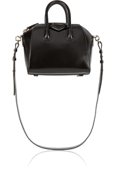 Givenchy Mini Antigona Bag In Black Leather