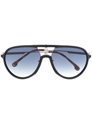 Carrera Matte Finish Aviator Frame Sunglasses 60