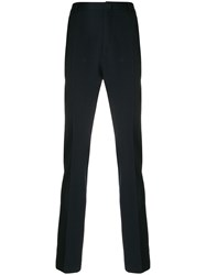 Lanvin Classic Chinos Cotton Polyester Wool Blue