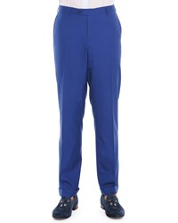 Stefano Ricci Wool Cashmere Trousers Blue