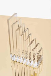 Nasty Gal Russell Hazel Lucite Bookend