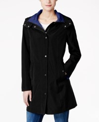 Nautica Hooded A Line Coat