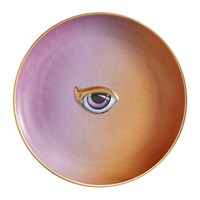 L'objet Lito Eye Canape Plate Purple Orange