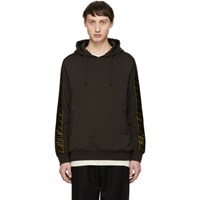 Brown 'Forever Fendi' Tape Hoodie