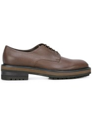 Fratelli Rossetti Chunky Sole Derbies Brown