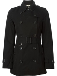 Burberry London Belted Trench Coat Black