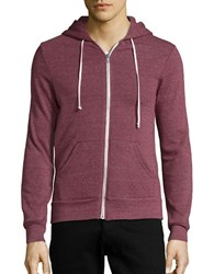 Alternative Apparel Zip Up Hoodie Ecotrue Purple