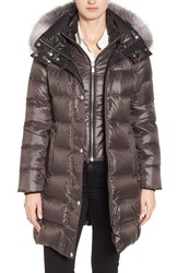 Andrew Marc New York Women's Down Coat With Genuine Fox Fur