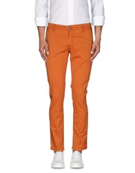 Alessandro Dell'acqua Trousers Casual Trousers Men Orange