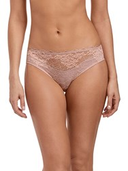 Wacoal Lace Perfection Briefs Rose Mist