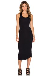 Dolan Sleeveless Crew New Slip Dress Black