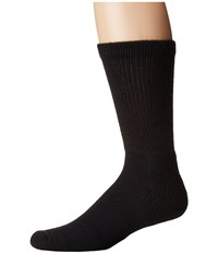 Thorlos Health Padds Crew Single Pair Black Men's Crew Cut Socks Shoes