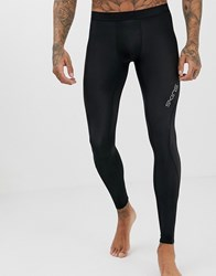 Skins Dnamic Compression Tights In Black