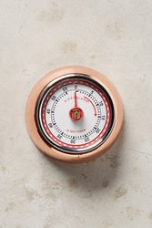 Anthropologie Magnetic Kitchen Timer Brown