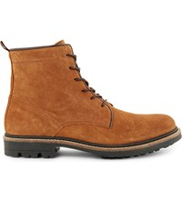 Kg By Kurt Geiger Howard Suede Boots Tan