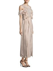 Alice Mccall Desire Cold Shoulder Maxi Dress Ballet