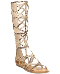 Fergalicious Graceful Tall Gladiator Sandals Women's Shoes Natural Snake