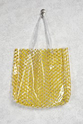 Forever 21 Clear Happy Face Tote Clear Multi