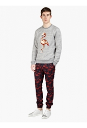 Marc Jacobs Men's Flamingo Printed Casual Trousers