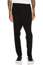 Baja East Satin Back Crepe Trousers In Black
