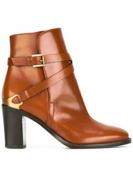 Fratelli Rossetti Almond Toe Ankle Boots Brown