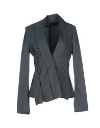 Malloni Suits And Jackets Blazers Women Dark Green