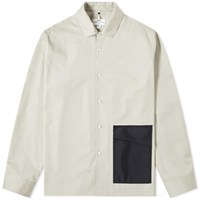 Oamc Noise Contrast Pocket Shirt Jacket Neutrals